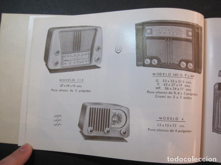 Radios antiguas: RADIO FORNS-CATALOGO PUBLICIDAD DE RADIOS-VER FOTOS-(K-2207) - Foto 9 - 254432760