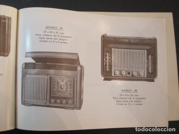 Radios antiguas: RADIO FORNS-CATALOGO PUBLICIDAD DE RADIOS-VER FOTOS-(K-2207) - Foto 10 - 254432760