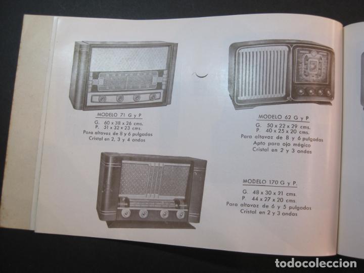Radios antiguas: RADIO FORNS-CATALOGO PUBLICIDAD DE RADIOS-VER FOTOS-(K-2207) - Foto 11 - 254432760
