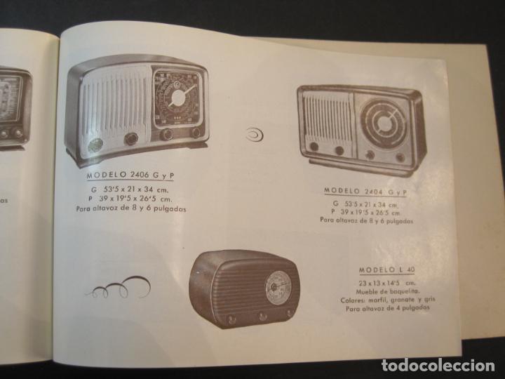 Radios antiguas: RADIO FORNS-CATALOGO PUBLICIDAD DE RADIOS-VER FOTOS-(K-2207) - Foto 12 - 254432760