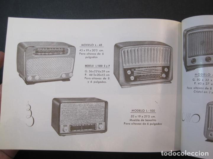 Radios antiguas: RADIO FORNS-CATALOGO PUBLICIDAD DE RADIOS-VER FOTOS-(K-2207) - Foto 13 - 254432760