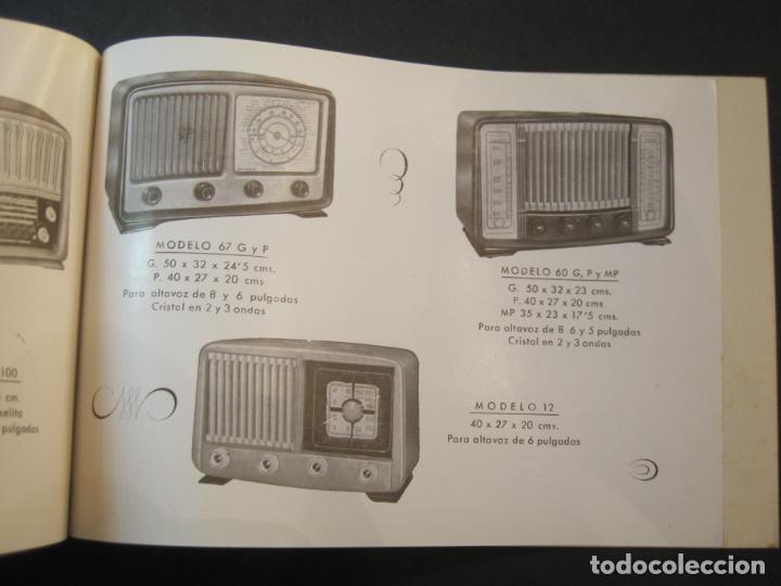 Radios antiguas: RADIO FORNS-CATALOGO PUBLICIDAD DE RADIOS-VER FOTOS-(K-2207) - Foto 14 - 254432760