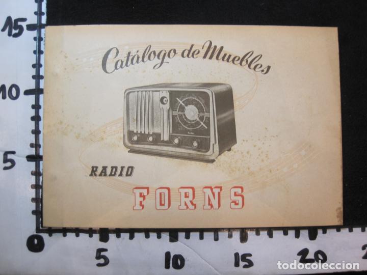Radios antiguas: RADIO FORNS-CATALOGO PUBLICIDAD DE RADIOS-VER FOTOS-(K-2207) - Foto 19 - 254432760