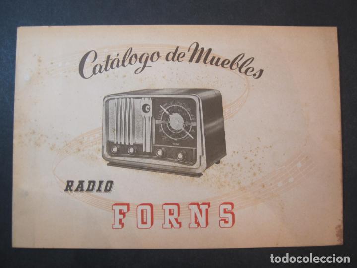 RADIO FORNS-CATALOGO PUBLICIDAD DE RADIOS-VER FOTOS-(K-2207) (Radios, Gramófonos, Grabadoras y Otros - Catálogos, Publicidad y Libros de Radio)