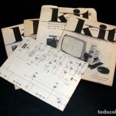 Radios antiguas: AFHA - KIT R-10/A, B, C Y D + ESQUEMA EXAMEN FINAL - TV EN B/N - VHF Y UHF - VER FOTOS ADICIONALES.. Lote 254692700