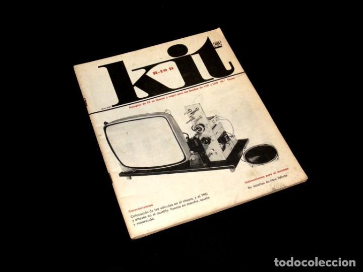 Radios antiguas: AFHA - KIT R-10/A, B, C Y D + ESQUEMA EXAMEN FINAL - TV EN B/N - VHF Y UHF - VER FOTOS ADICIONALES. - Foto 8 - 254692700