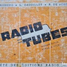 Radio antiche: MANUAL DE VÁLVULAS RADIO. Lote 255559870