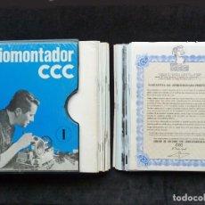 Radios antiguas: CURSO DE RADIOMONTADOR POR CORRESPONDENCIA CCC. 1 ARCHIVADOR + SUPLEMENTOS + EXTRAS. 1970. Lote 255732190