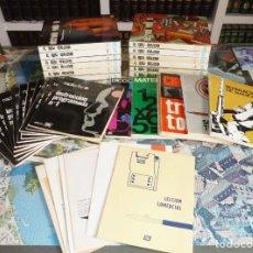 Radios antiguas: CURSO ELECTRONICA RADIO TV AFHA. 12 TOMOS + 11 CUADERNILLOS + 4 LIBROS + EXTRAS. MUY COMPLETO. 1976-. Lote 255803305