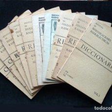 Radios antiguas: CURSO RADIO. INSTITUTO DE INVESTIGACIONES RADIOELÉCTRICAS. J.N. LOMBAS ING. BILBAO, 1944-45. MUY RAR. Lote 255857070