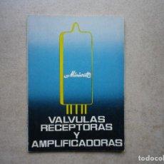 Radios antiguas: VÁLVULAS RECEPTORAS Y AMPLIFICADORAS. Lote 256029085