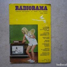 Radios antiguas: RADIORAMA Nº 76 DE 1974. Lote 256030240