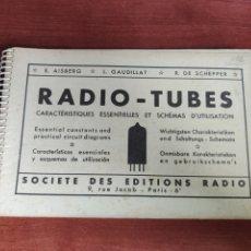 Radio antiche: RADIO TUBES E. AISBERG L. GAUDILLO R. DE SCHEPPER MINIWATT DARIO. Lote 256153815