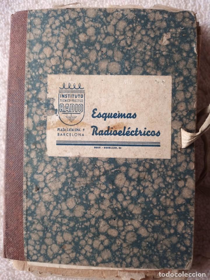 INSTITUTO TECNICO-PRACTICO BARCELONA, ESQUEMAS ANTIGUA RADIOELECTRICOS (Radios, Gramófonos, Grabadoras y Otros - Catálogos, Publicidad y Libros de Radio)