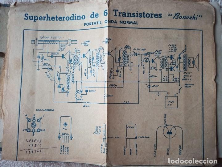 Radios antiguas: Instituto tecnico-practico Barcelona, esquemas antigua radioelectricos - Foto 2 - 257622970
