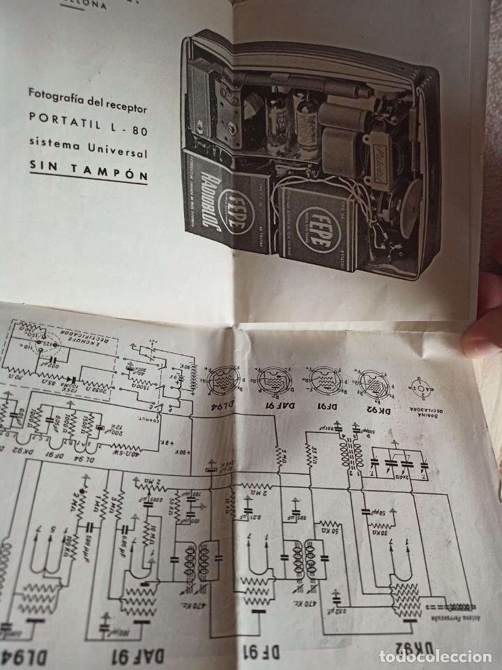Radios antiguas: Instituto tecnico-practico Barcelona, esquemas antigua radioelectricos - Foto 4 - 257622970