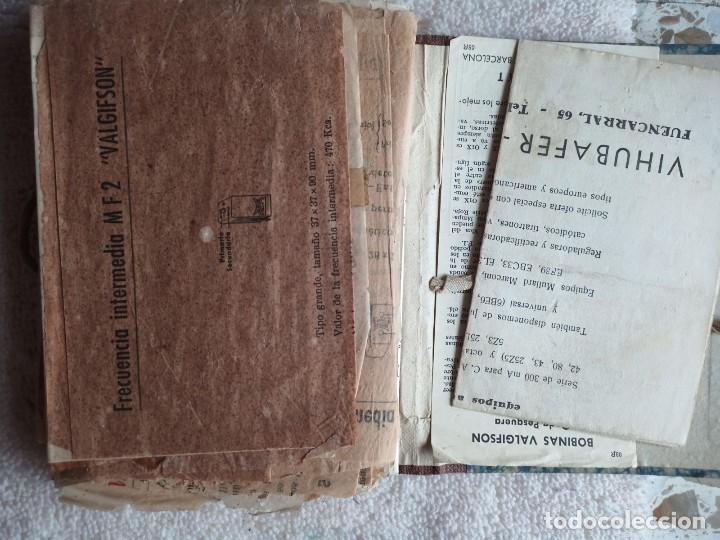 Radios antiguas: Instituto tecnico-practico Barcelona, esquemas antigua radioelectricos - Foto 6 - 257622970
