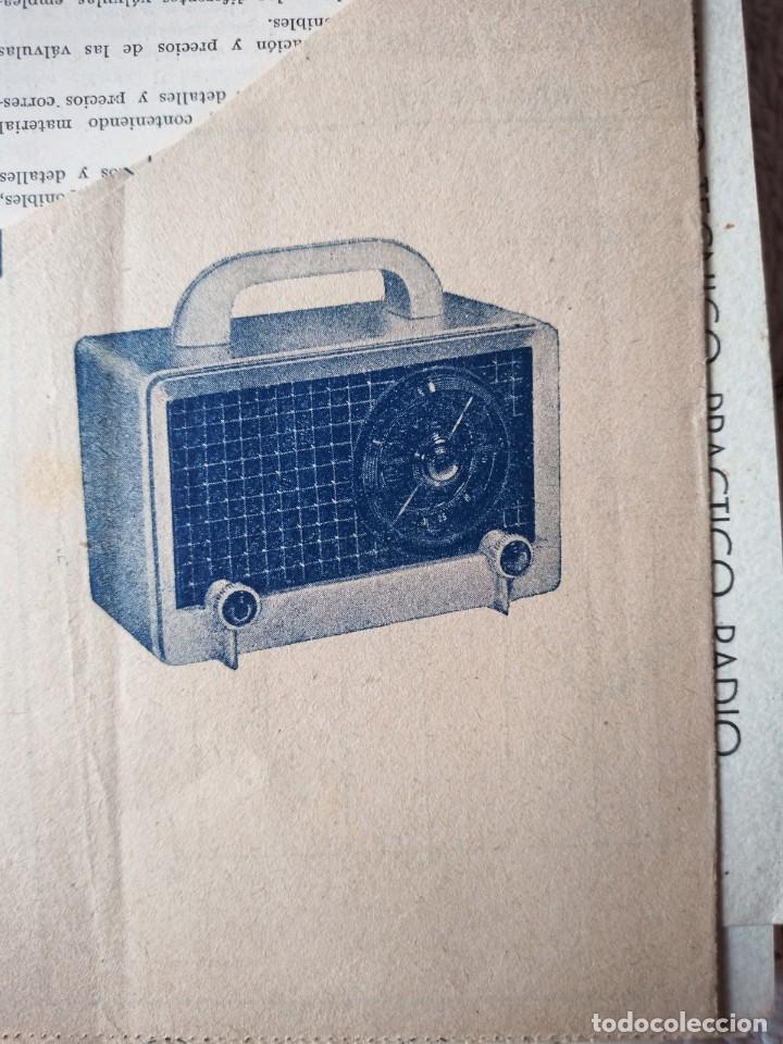 Radios antiguas: Instituto tecnico-practico Barcelona, esquemas antigua radioelectricos - Foto 8 - 257622970