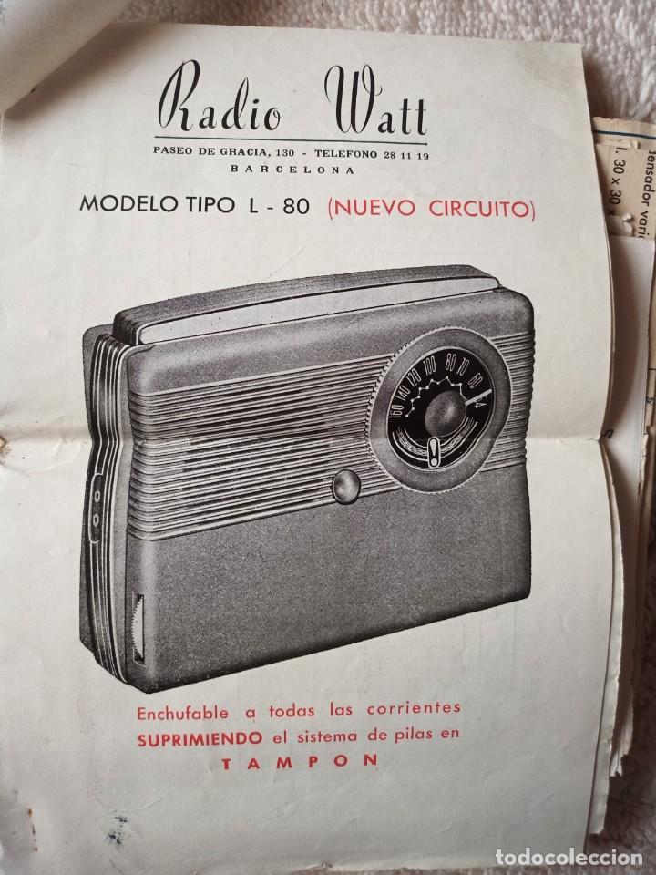Radios antiguas: Instituto tecnico-practico Barcelona, esquemas antigua radioelectricos - Foto 9 - 257622970