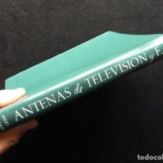 Radios antiguas: ANTENAS DE TELEVISIÓN Y F.M. DANIEL SANTANO LEÓN. PARANINFO, 1962. Lote 258229045