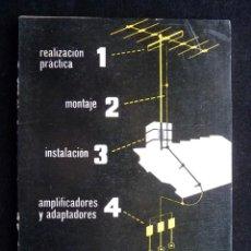 Radios antiguas: ANTENAS DE TV. A. ARIZMENDI. ED. REDE, 1964. Lote 258229075