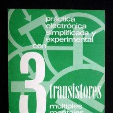 Radios antiguas: CON 3 TRANSISTORES MÚLTIPLES MONTAJES COMPROBADOS. REDE, 1976. Lote 258230350