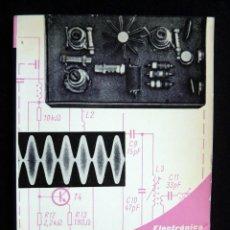 Radios antiguas: EMISORAS CON TRANSISTORES PARA MANDO A DISTANCIA. HELMUT BRUSS. ELECTRÓNICA PRÁCTICA. MACOMBO, 1977. Lote 258231225