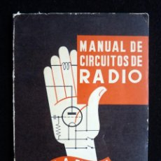 Radios antiguas: MANUAL DE CIRCUITOS DE RADIO. J. A. FEELEY. PARANINFO, 1964. Lote 258231960