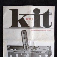 Rádios antigos: ALFHA KIT R-01/C. INTRUCCIONES DE MONTAJE RECEPTOR ELEMENTAL CON DETECCIÓN POR DIODO. Lote 259849845