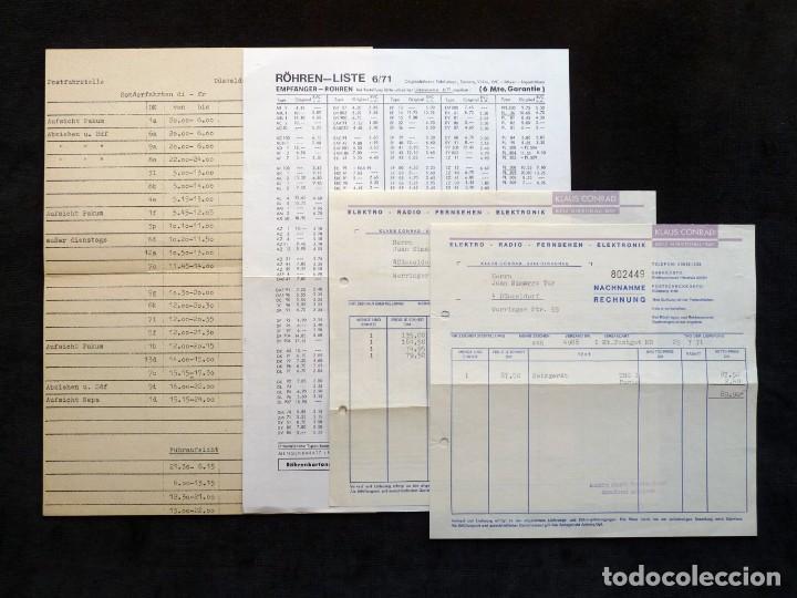 Radios antiguas: CATÁLOGO DE COMPONENTES ELECTRÓNICOS TV Y RADIO KLAUS CONRAD, 1971. EN ALEMÁN - Foto 5 - 259850985