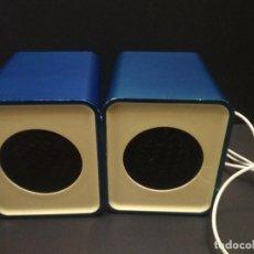 Radios antiguas: ALTAVOCES PARA ORDENADOR AMPLIFICADOS CARREFOUR CSP20(DS968) PEPETO ELECTRONICA. Lote 262630850