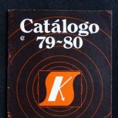 Radios antiguas: SALES KIT. CATÁLOGO 1979-80. RADIO, ELECTRÓNICA, TV. Lote 262881865