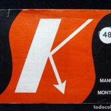 Rádios antigos: SALES KIT. RECEPTOR SUPERHETERODINO PARA ONDA MEDIA. MANUAL DE MONTAJE Nº 48. Lote 262882795
