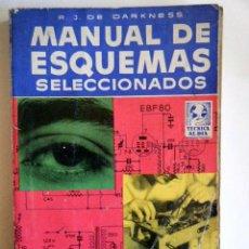 """Radios antiguas: DE DARKNESS, R. J. """"MANUAL DE ESQUEMAS SELECCIONADOS"""".. Lote 264420494"""