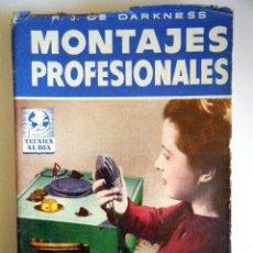 """Rádios antigos: DE DARKNESS, R. J. """"MONTAJE PROFESIONAL"""".. Lote 264424434"""