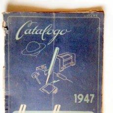 Radios Anciennes: CATÁLOGO 1947 RADIO SATURNO.. Lote 266836574