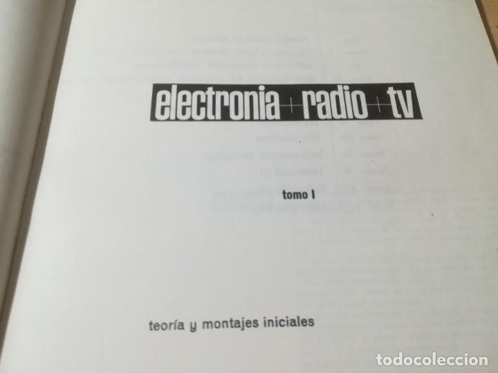Radios antiguas: TEORIA Y MONTAJES INICIALES - TOMO I / ELECTRONIA + RADIO + TV / AFHA / AJ18 - Foto 4 - 266961649