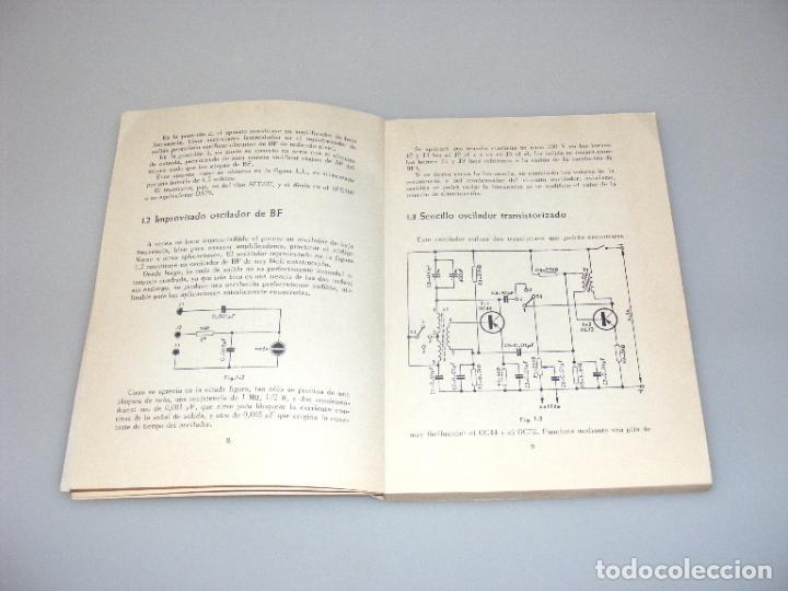 Radios antiguas: IMPROVISACONES QUE DAN DINERO Y AHORRAN TIEMPO (1966) - PRÁCTICA ELECTRÓNICA 3 - REDE. - Foto 3 - 268586904