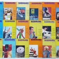 Radios antiguas: 18 REVISTAS RADIORAMA - Nº 8-9-11-17-22-42-45-48-50-53-54-55-56-57-58-62-63-64 - AÑOS 1969/73. Lote 269097648