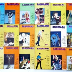 Radios antiguas: 18 REVISTAS RADIORAMA - Nº 3-4-5-7-15-21-22-29-31-32-35-43-46-47-51-59-60 - AÑOS 1968/73. Lote 269100823