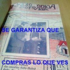 Radios antiguas: 1924 RADIO CIENCIA POPULAR LOS 59 PRIMEROS NROS PERTENECIERON A JUAN NEPOMUCENO DIAZ CUSTODIO ECIJA. Lote 269310548