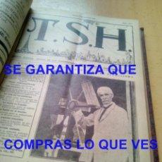Radios antiguas: TSH TELEFONIA SIN HILOS 1926 NROS 85 AL 110 PERTENECIERON A JUAN NEPOMUCENO DIAZ CUSTODIO ECIJA. Lote 269311438