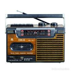 Radios antiguas: RADIO CASSETE RECORDER VINTAGE USB TF - NUEVO. Lote 287240238