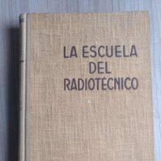 Radios antiguas: LIBRO ESCUELA DEL RADIOTECNICO, CINE SONORO, REPRODUCCION,. Lote 272136103