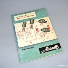 Radios antiguas: MINIWATT - AMPLIFICADORES DE BAJA FRECUENCIA CON TRANSISTORES (1965). Lote 276367568