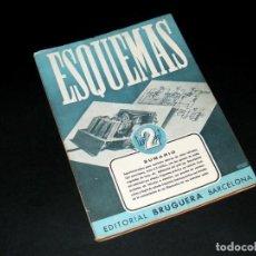 Radios antiguas: ESQUEMAS - PRIMERA EDICIÓN (1945) - Nº.2- MONTAJE DE UN SUPERHETERODINO - VER DESCRIPCIÓN Y FOTOS.. Lote 276437388