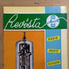 Radios antiguas: MAGNÍFICO LOTE 25 REVISTAS MINIWATT CON REGALO EJEMPLAR SOBRE TRANSISTORES.. Lote 276995943