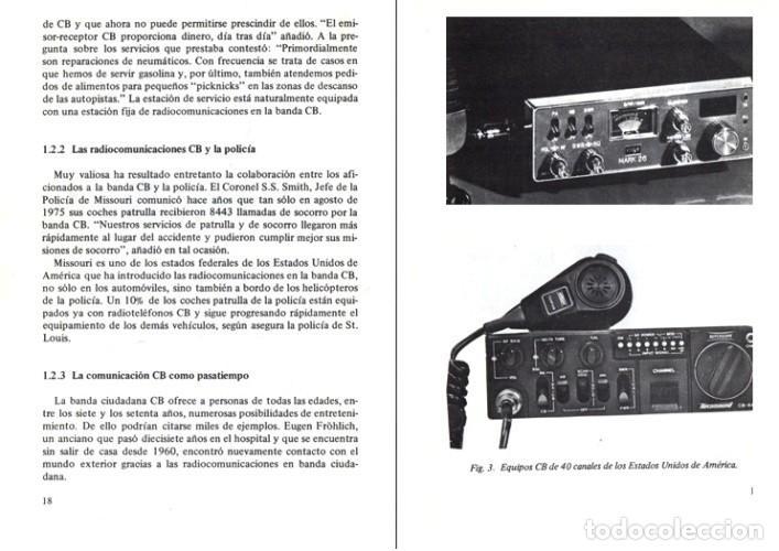 Radios antiguas: RADIO. COMUNICACIONES POR CB. BANDA CIUDADANA. STRATIS KARAMANOLIS. MARCOMBO 1983. - Foto 2 - 278446358