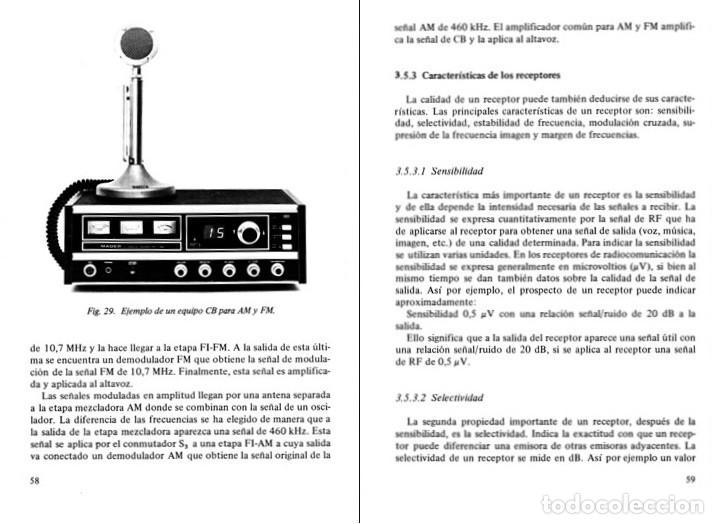 Radios antiguas: RADIO. COMUNICACIONES POR CB. BANDA CIUDADANA. STRATIS KARAMANOLIS. MARCOMBO 1983. - Foto 8 - 278446358
