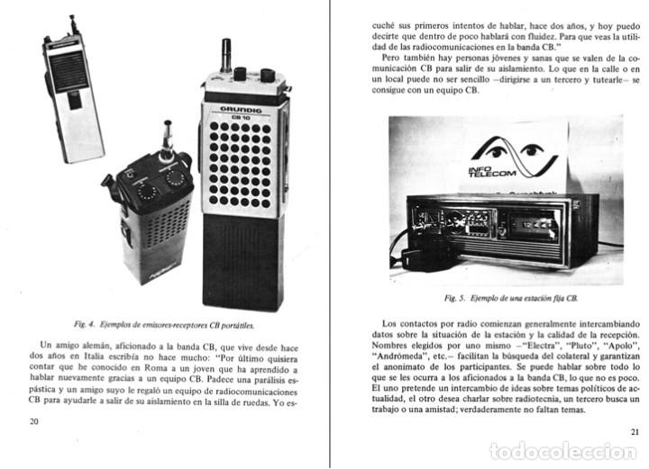 Radios antiguas: RADIO. COMUNICACIONES POR CB. BANDA CIUDADANA. STRATIS KARAMANOLIS. MARCOMBO 1983. - Foto 9 - 278446358